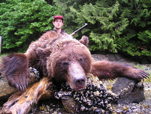Coastal Grizzly Bear Hunting Guides & Outfitter - North Coast ...